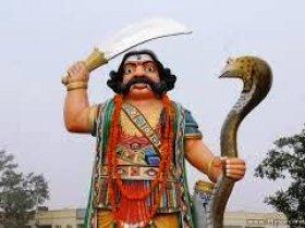 Mahishasura Statue