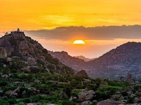 Hampi Sunset-Hampi