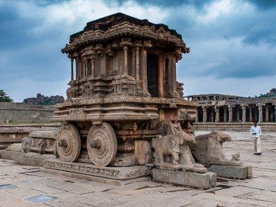 Stone chariot-Hampi